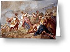 Amigoni: Dido And Aeneas Greeting Card by Granger
