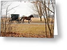 Amish Dream 1 Greeting Card