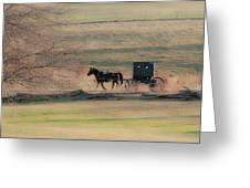 Amish Dream Greeting Card