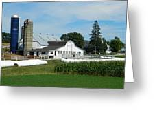 Amish Farm - Lancaster 02 Greeting Card