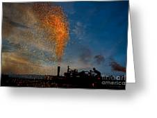 Amish Fireworks Greeting Card
