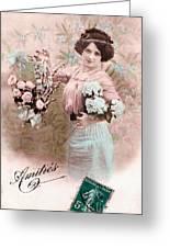 Amities Greeting Card