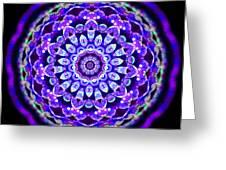 Ammersee Cropcircle Lightmandala Morph Greeting Card