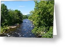 Ammonoosuc River Greeting Card