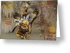 Pow Wow Among Friends Greeting Card