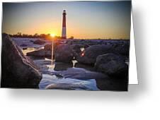 Among The Rocks Greeting Card