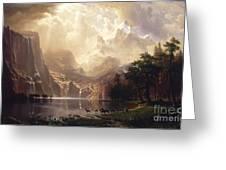 Among_the_sierra_nevada,_california Greeting Card