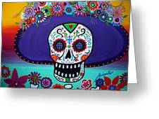 Amor Catrina Greeting Card