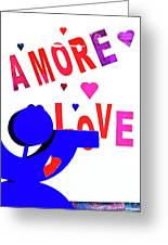 Amore Love Greeting Card