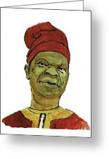 Amos Tutuola Greeting Card