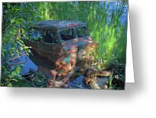 Amphibious Vehicle Greeting Card