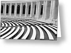 Amphitheatre Washington Greeting Card