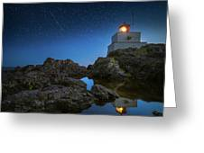 Amphitrite Point Lighthouse Greeting Card