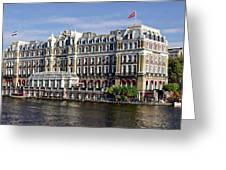 Amstel Amsterdam Hotel Greeting Card
