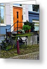 Amsterdam Door Greeting Card