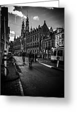 Amsterdam Street Greeting Card