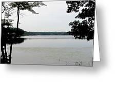 Amston Lake Greeting Card