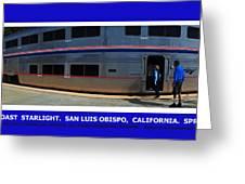 Amtrak San Luis Obispo Greeting Card