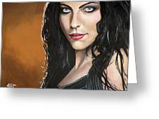 Amy Lee Greeting Card