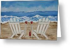Amy's Beach Greeting Card