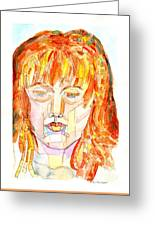 Face Planes Greeting Card