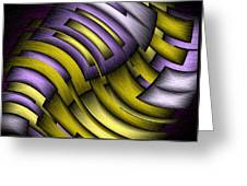 An Abstract Slope Greeting Card