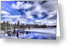 An Adirondack Winter Greeting Card