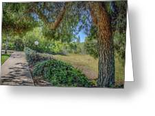 An Afternoon Stroll Greeting Card