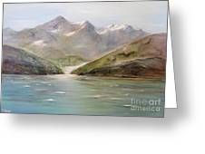 An Alaskan View Greeting Card