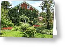 An Amana Garden Greeting Card