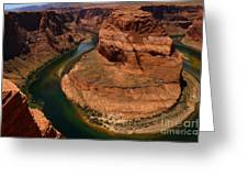 An Amazing Place - Horseshoe Bend Greeting Card