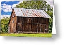 An American Barn 2 Greeting Card