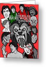 An American Werewolf In London Greeting Card