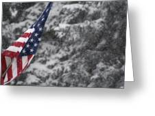 An American Winter Greeting Card