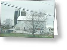 An Amish Barn In April Greeting Card