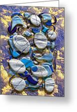 An Arrangement Of Stones Greeting Card