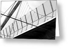 An Arrow Or A Sail Greeting Card