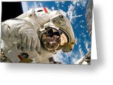 An Astronaut Mission Specialist Greeting Card