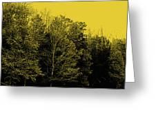 An Autumnal Visit Greeting Card