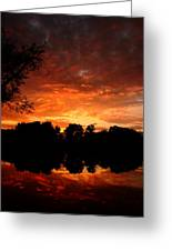 An Awesome Sunset  Greeting Card
