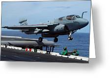 An Ea-6b Prowler Launches Greeting Card