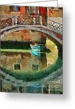 An Early Morning In Venice Greeting Card