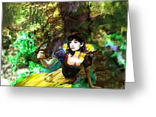 An Enchanted Moment Greeting Card
