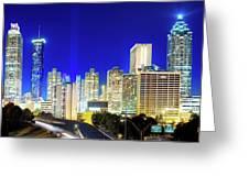 An Evening In Atlanta Greeting Card