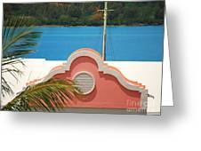 An Eye Brow Roof At Grotto Bay Greeting Card