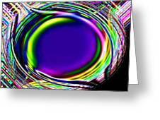 An Eye For Color Greeting Card