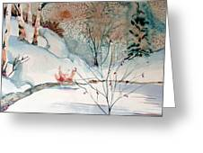 An Icy Winter Greeting Card
