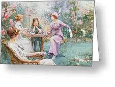 An Interested Audience Greeting Card