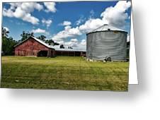 An Iowa Farm Greeting Card
