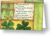 An Irish Blessing Greeting Card